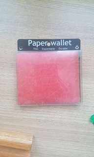 Brand New Paper Wallet