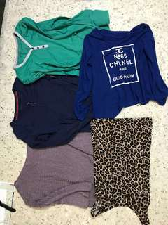 4 for RM80 Padini and Channel blouse for Woman