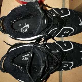 Nike uptempo 96 (core black) replica AAA