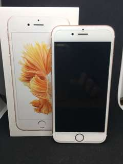 iPhone 6s 32gb Rose Gold mulus