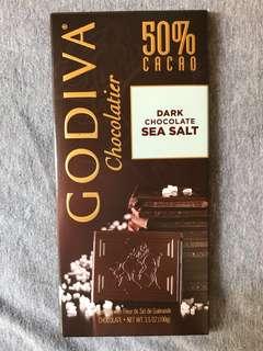 Godiva Sea Salt Dark Chocolate 海鹽黑朱古力