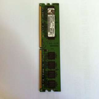 kingston 1gb ram 2 pieces available one gigabyte random access memory DDR2 800mhz