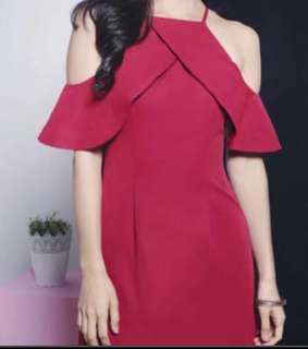 Love bonito red dress