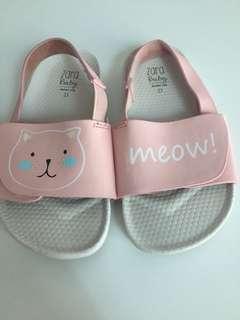 Zara kids meow meow shoe