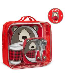 Skip Hop Winter Zoo mealtime set - Bear