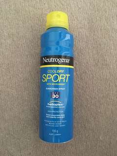 Neutrogena Sport Sunscreen Spray 155g