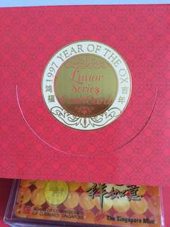 1997 YEAR OF THE OX Lunar Series Cashcard (4-in-1)