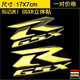 Suzuki R GSX GSXR GSXR1000 1300 250 GSXR1300 sticker Suzuki Hayabusa 3D decal