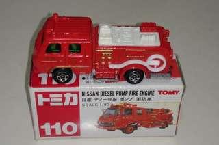 Tomy Tomica 舊款紅盒消防車仔 (2)