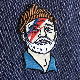 Limited Edition Zissou Sane Iron-on Patch from Sad Truth Supply USA