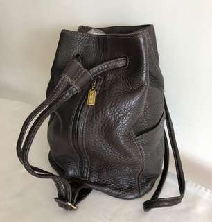 COACH Shoulder / Backpack style purse