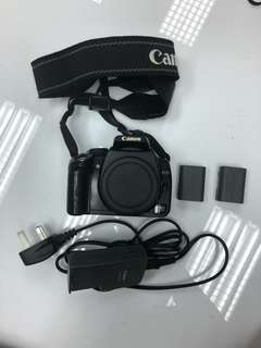 Canon EOS 350D + 2 LITHIUM ION BATTERY + BATTERY CHARGER