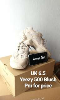Yeezy 500 Bludh