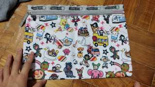 Large Cartoon Pouch