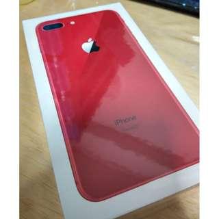 BNIP Apple iPhone 8 Plus, Red, 64GB