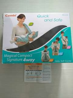 Combi brand 4 way baby soft carrier