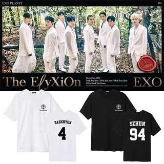EXO ELYXION UNOFFICIAL T SHIRT