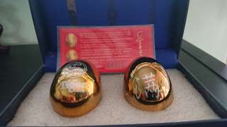 Tiger beer limited edition 24k gold plated Celestial Eggs