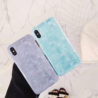 薄荷綠/藍色case