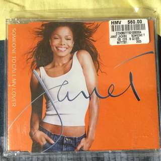 Janet Jackson Some One To Call My Lover