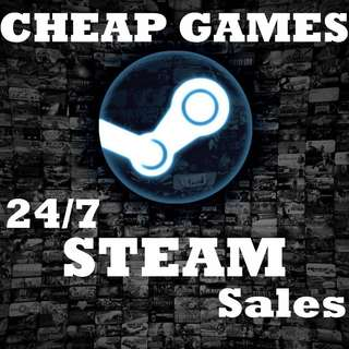 $5 per PC Game (Steam / Uplay)