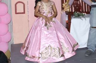 Kids gown 7th birthday