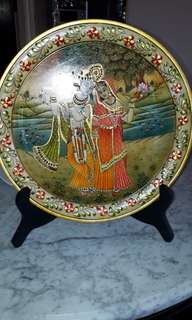 antique earlie 1900s OF LORD RAMA &SITA of RAJISTAN JAIPUR  IN  MARBEL  SALE PRICE IS FIXED