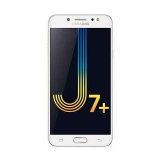 Promo Samsung Galaxy J7 Plus Gold Bisa Kredit Tanpa Cc