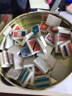 42 country erasers