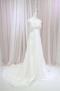 拖尾婚紗 wedding gown