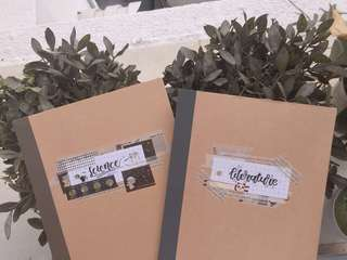 customised notebooks