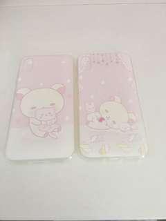 輕鬆小熊 iPhone X 手機壳兩個