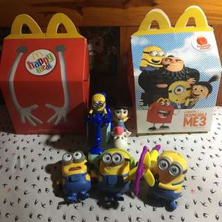 Despicable Me Minions with Agnes and Pony