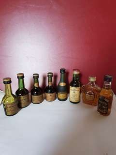 Miniature Liquor - 8pcs