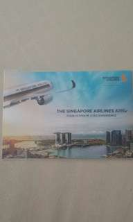 Singapore Airlines postcard
