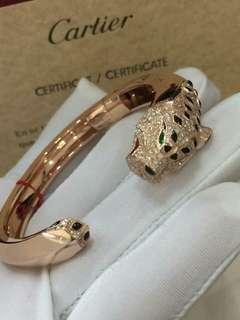 18K Cartier Bangle Genuine Gold