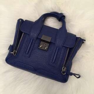Philip Lim 3.1 Cobalt Blue Mini Pashli Satchel/Bag