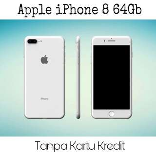 Kredit iPhone 8 plus 64Gb, garansi resmi iBox 1 tahun