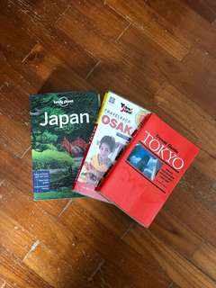 Japan travel books (Set of 3)