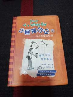 Diary Of A Wimpy Kid in Chinese and English
