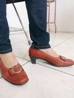 Maroon Shoes (Size 38)