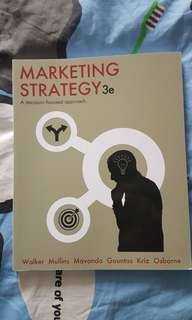 Marketing Strategy 3e Strategic Marketing