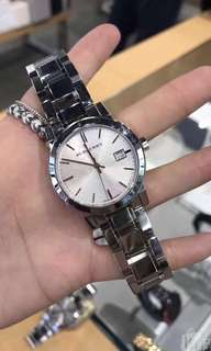 Burberry Womens 38mm stainless steel Watch BU9035