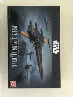 Bandai star war poe's x-wing fighter