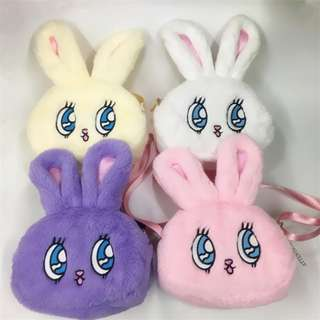 猫日屋 大眼兔兔斜背小包包 / 4色 / 加購更便宜