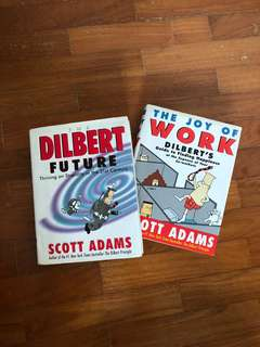 Two Dilbert's books