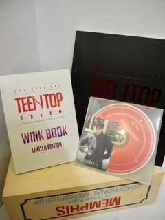 🚚 TEEN TOP EXITO專輯(附創造小卡)