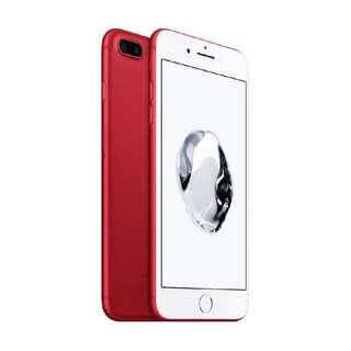 Apple iPhone 7 Plus 128GB Red Garansi Internasional