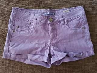 Preloved Purple Shorts