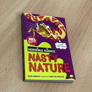 NEW Horrible Science Nasty Nature Storybook for Children